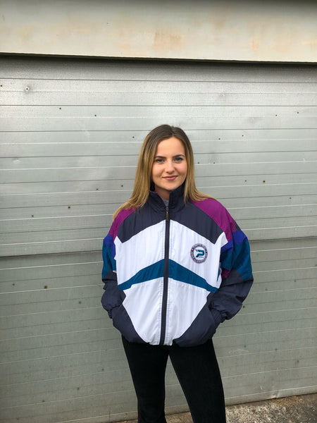 Vintage Oversized Retro Festival Unisex Windbreaker Shell Jacket
