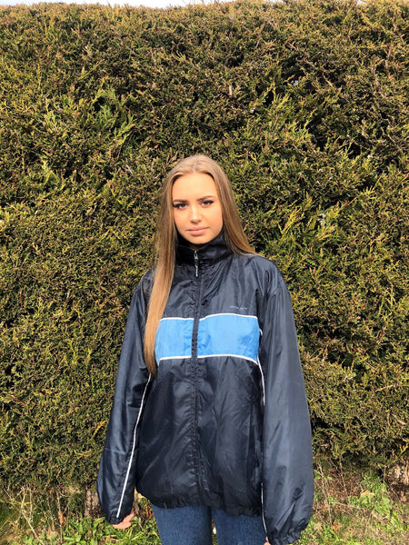 Vintage Retro Oversized Waterproof Windbreaker Unisex Shell Jacket