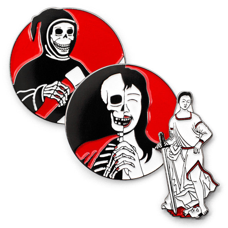 ColdToes - Russian Criminal Pins 3-pack