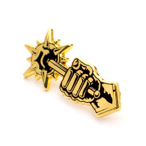 ColdToes - Comply pin (gold)