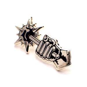 ColdToes - Comply pin (silver)