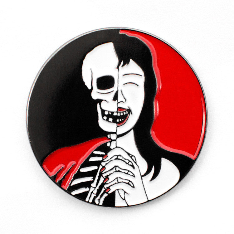ColdToes - Two-Faced Pin