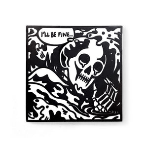 ColdToes - Drowning Pin (black)