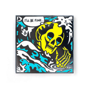 ColdToes - Drowning Pin (silver)