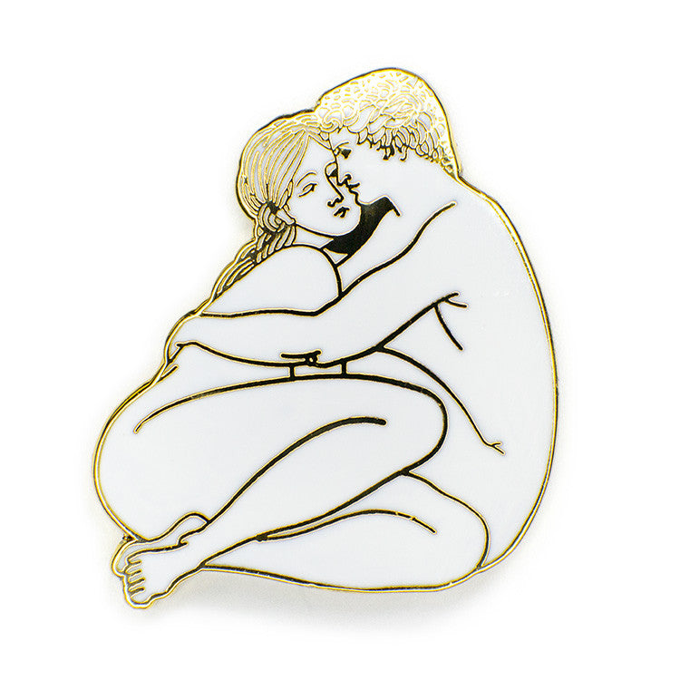 ColdToes - Evils of the Flesh Pin (gold)