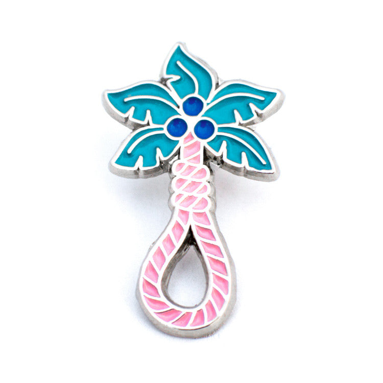 ColdToes - Palm Beach Noose Pin (silver)