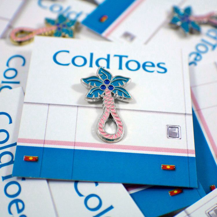 ColdToes - Tropical Death Pin (silver)