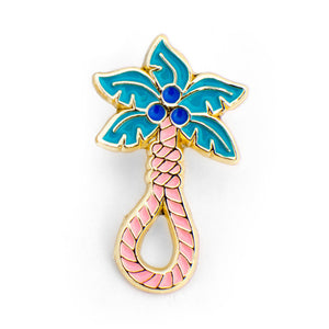 ColdToes - Tropical Death Pin (gold)