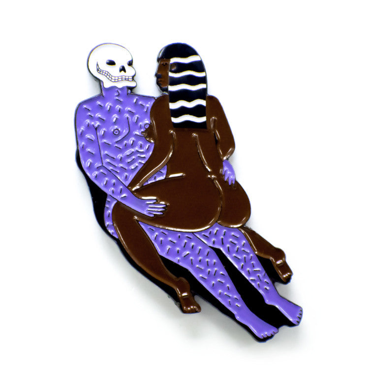 ColdToes - Ride Or Die Pin (Midnight Lover Colorway)