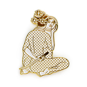 ColdToes - Sakura pin (gold)