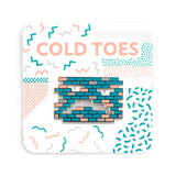 ColdToes - Stone Faced pin