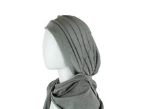 Slip On Turban Wrap - Sky Blue
