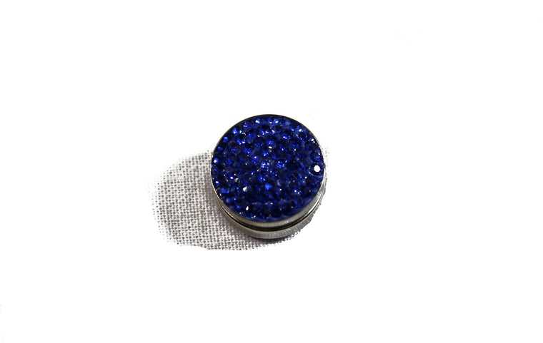 Crystal Magnetic Pin - Sapphire