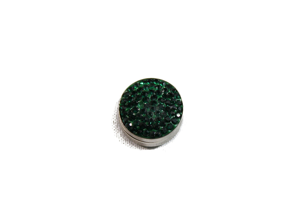 Crystal Magnetic Pin - Green