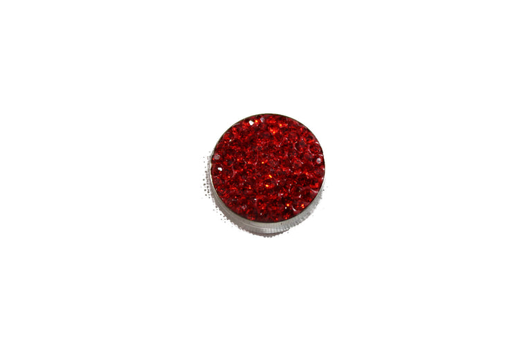 Crystal Magnetic Pin - Red