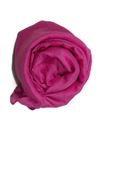 Crinkle Cotton Hijab - Hot Pink