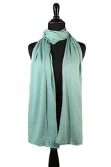 Jersey Hijab - Mint Cream