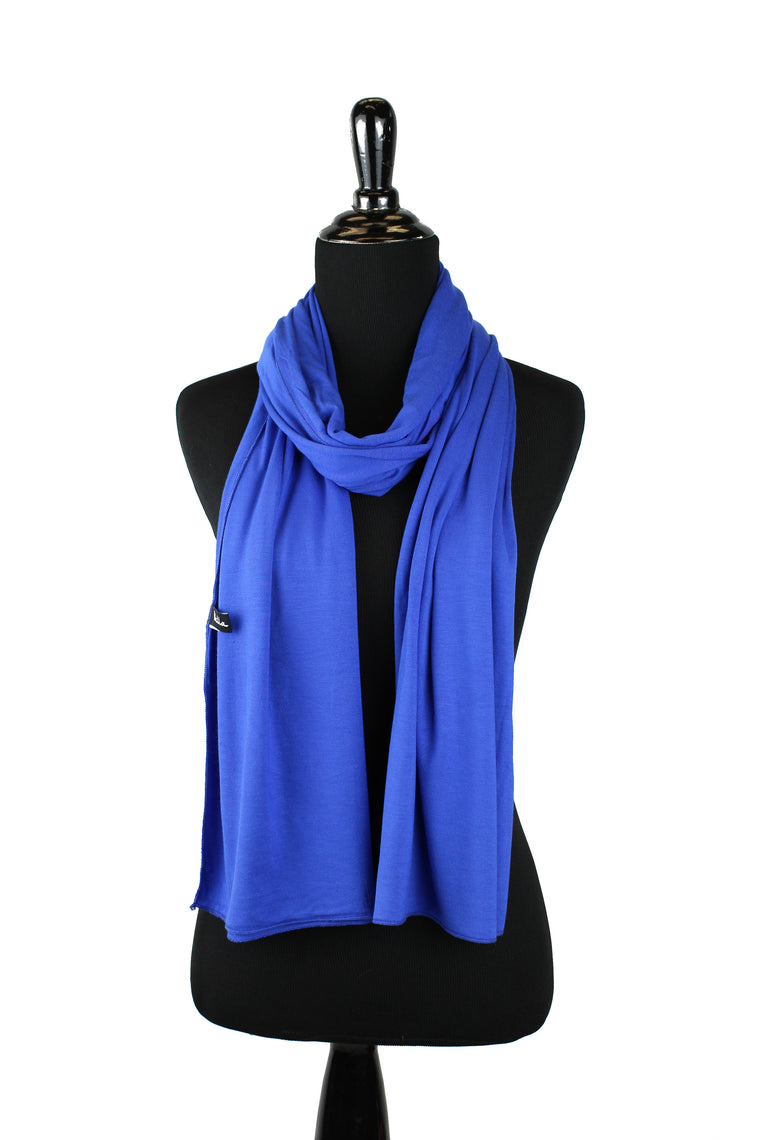 Jersey Hijab - Royal Blue