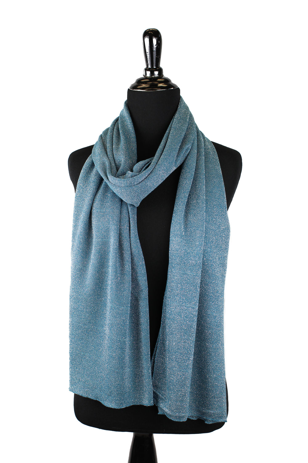 Shimmer Jersey Hijab - Teal