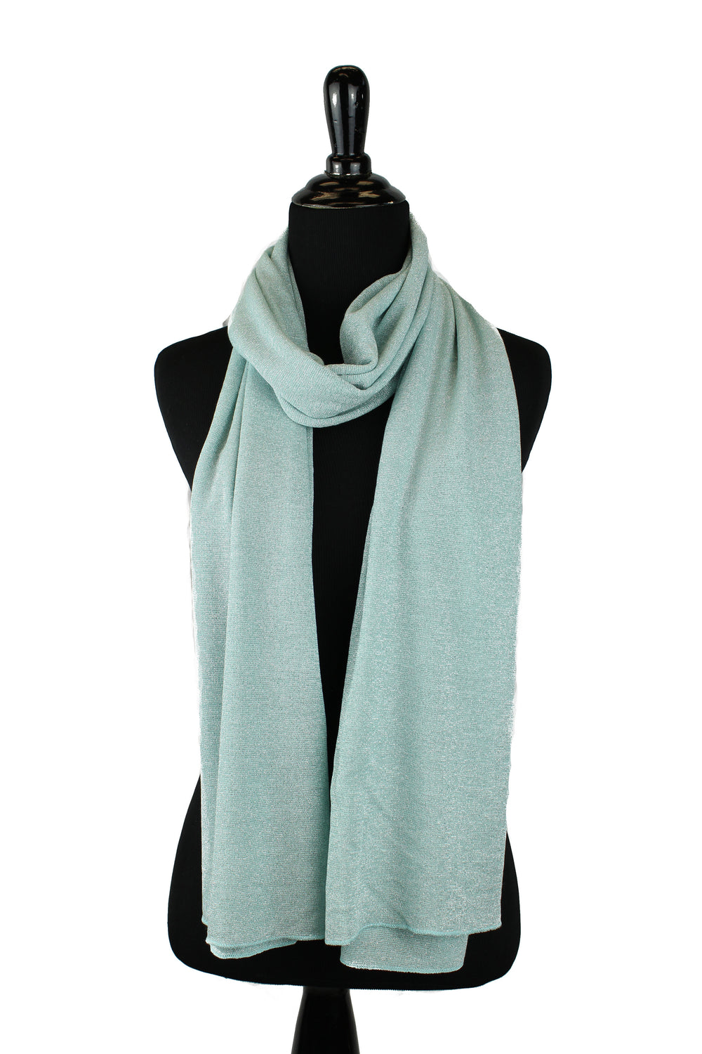 Shimmer Jersey Hijab - Mint