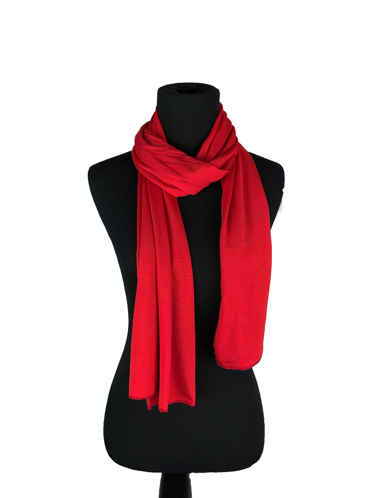 Lycra Hijab Wrap - Red