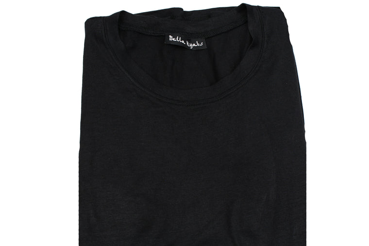 Long Sleeve Basic Top - Black
