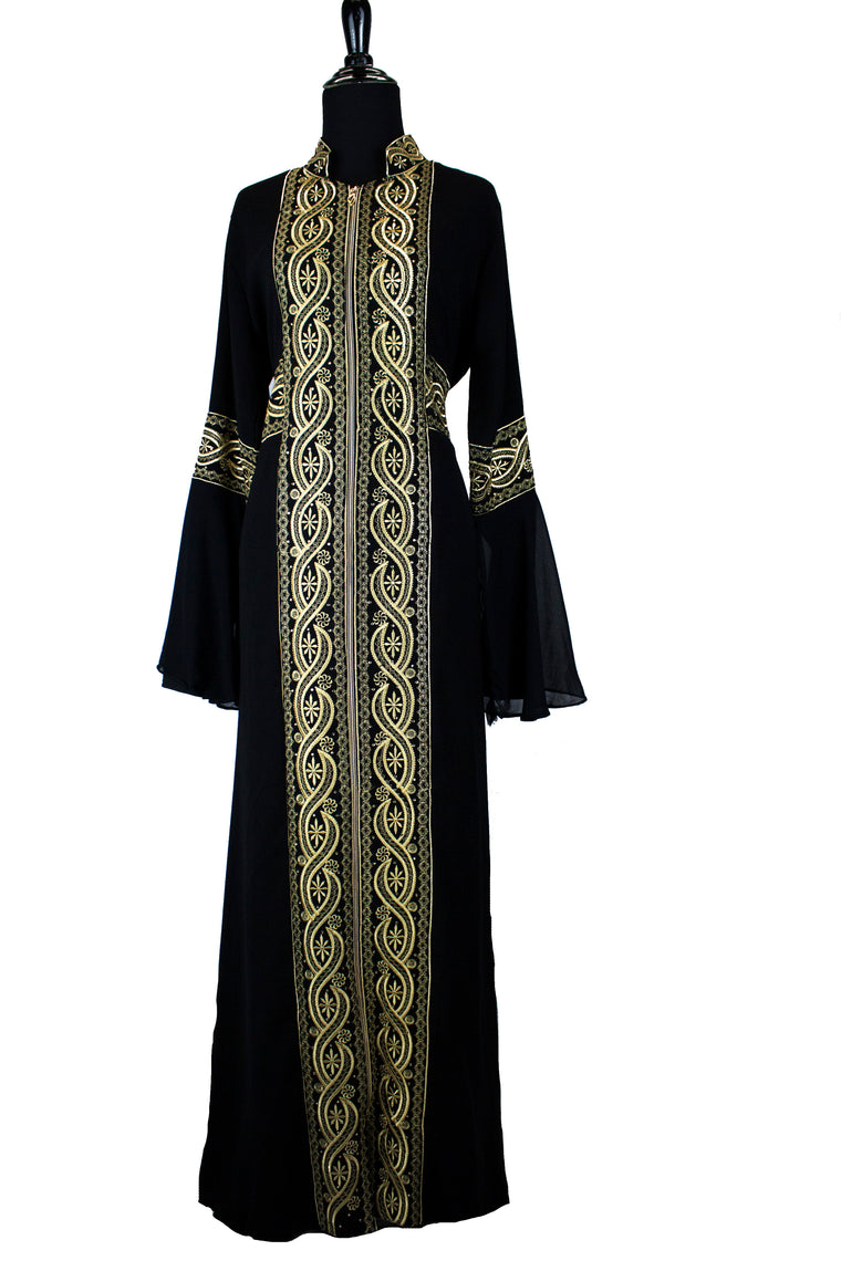 Traditional Kaftan - Gold