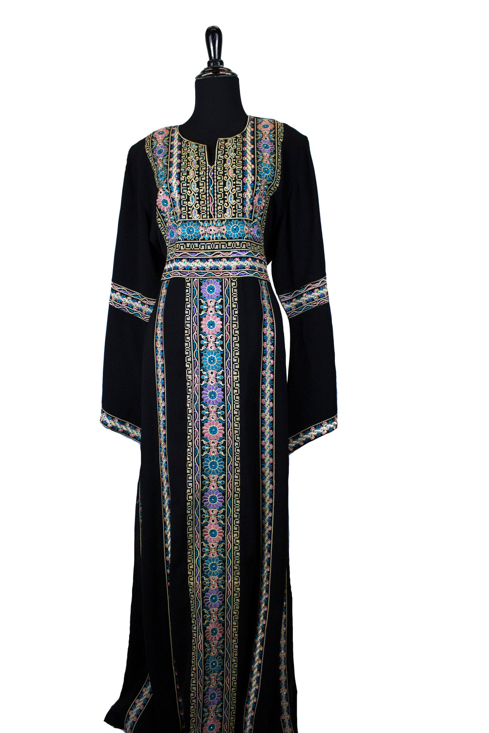 Traditional Kaftan - Light Florals