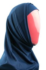 Two-Piece Amira Hijab - Navy