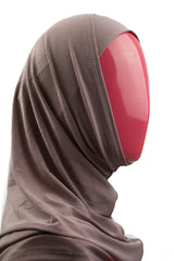 Two-Piece Amira Hijab - Mauve