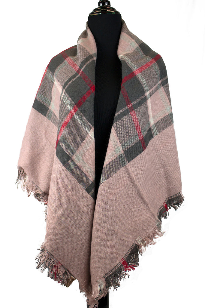 Blanket Scarf - Blush