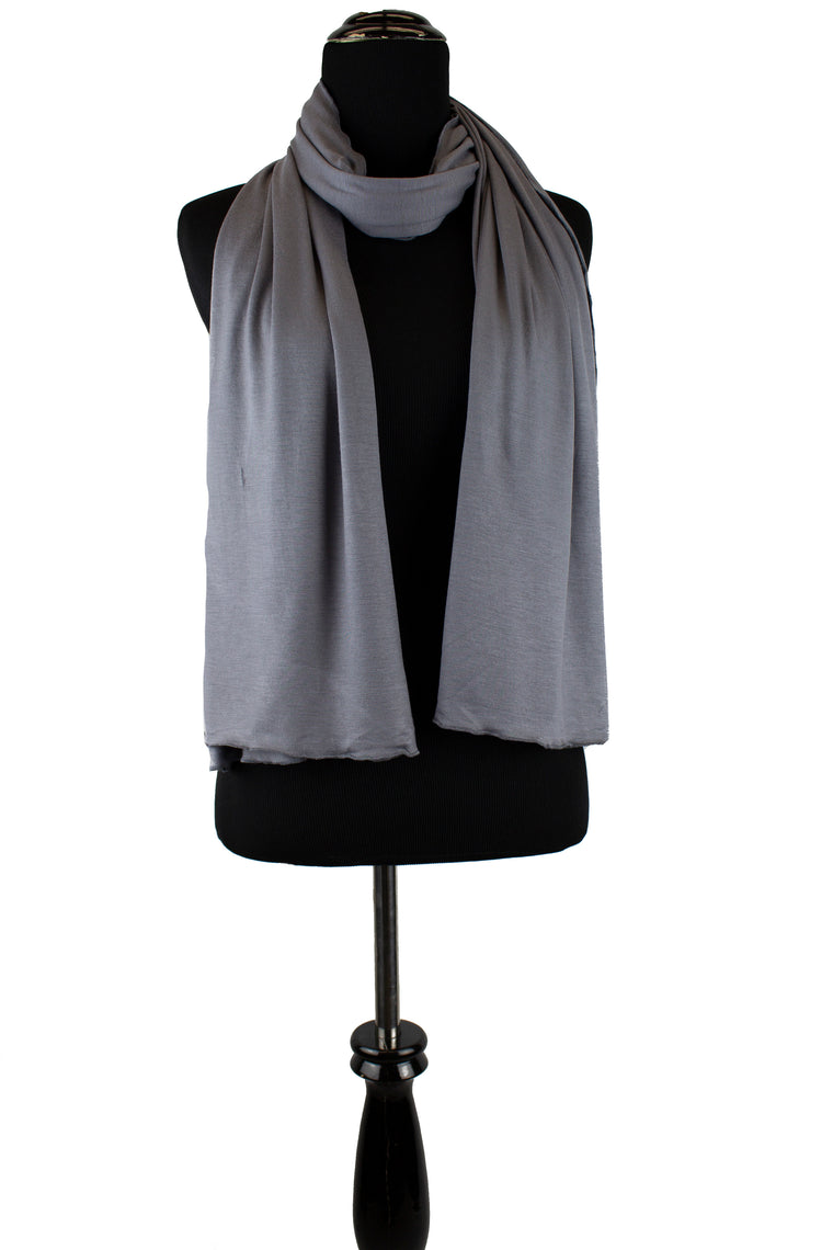 jersey hijab in dark gray
