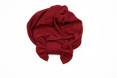 Bow Turban - Maroon