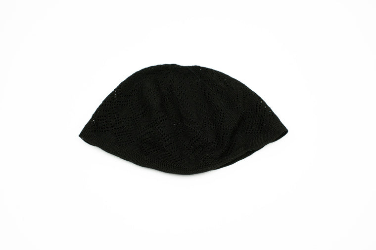 Men's Knitted Kufi - Black