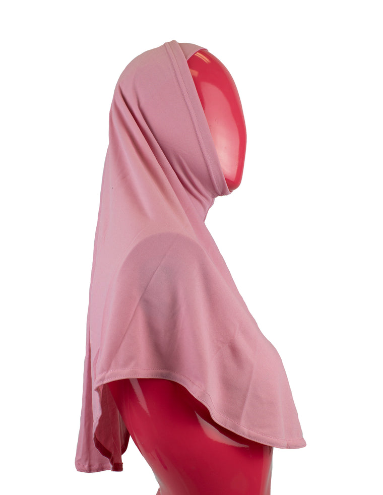 Extra Long Two-Piece Amira Hijab - Mauve