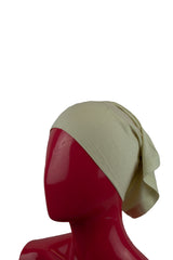 Jersey Under Scarf Tube Cap - Ivory