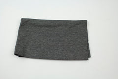 dark heathered gray under scarf tube cap for hijab