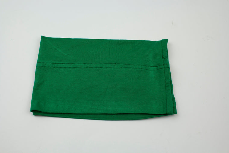 green under scarf tube cap for hijab