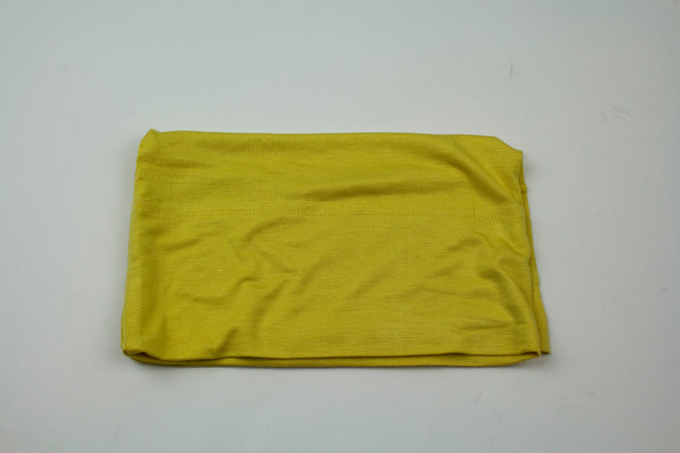 Jersey Under Scarf Tube Cap - Ceylon Yellow