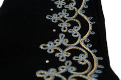 Embroidered Georgette Hijab