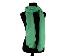 seafoam green solid viscose hijab