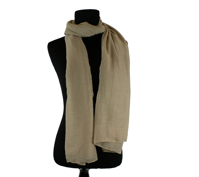Viscose Hijab - Tan