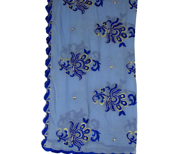 Mayafi Shawl Wrap - Light Blue