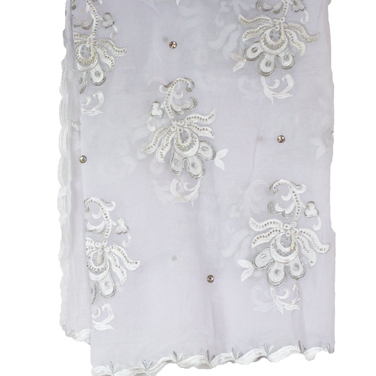 Mayafi Shawl Wrap - White