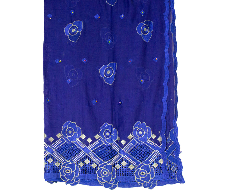 Mayafi Shawl Wrap - Royal Blue
