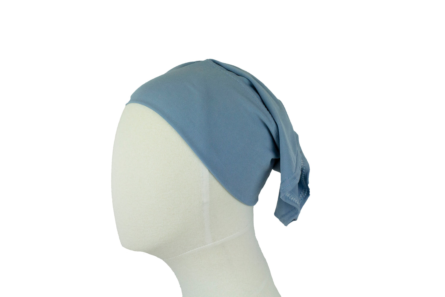 dusty blue undercap for hijab