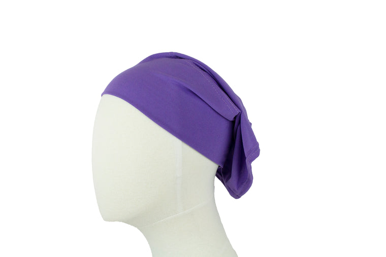 Under Scarf Tube Cap - Light Purple
