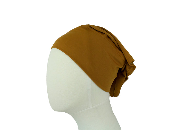 Under Scarf Tube Cap - Bronze