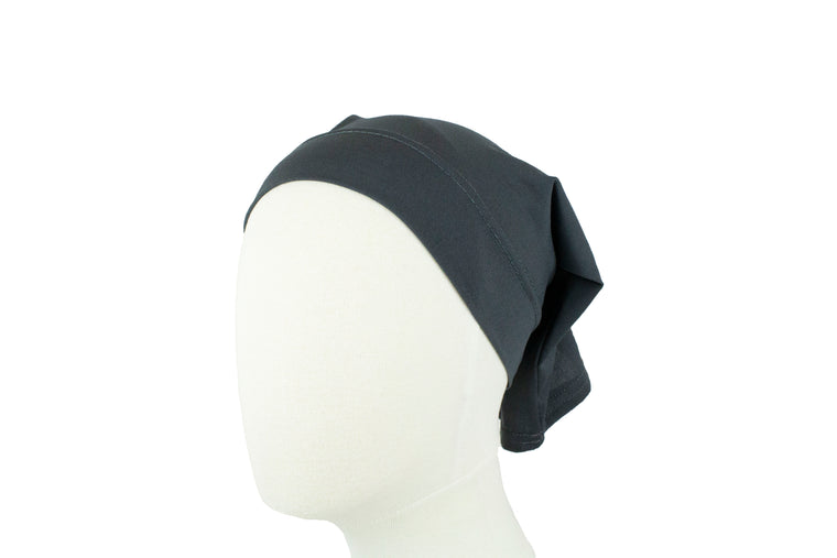 Under Scarf Tube Cap - Charcoal Gray