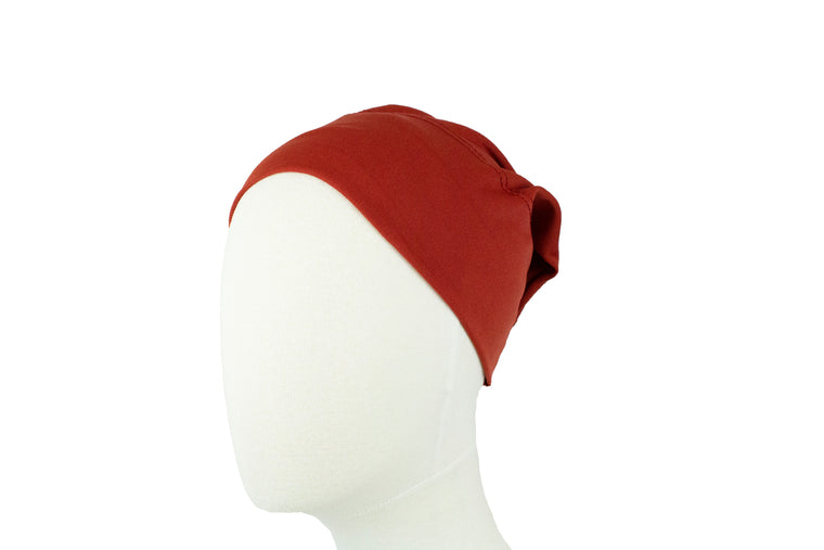 Under Scarf Tube Cap - Amber